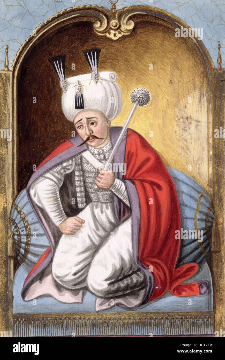 Selim I, Ottoman Emperor, (1808). Artist: John Young - Stock Image