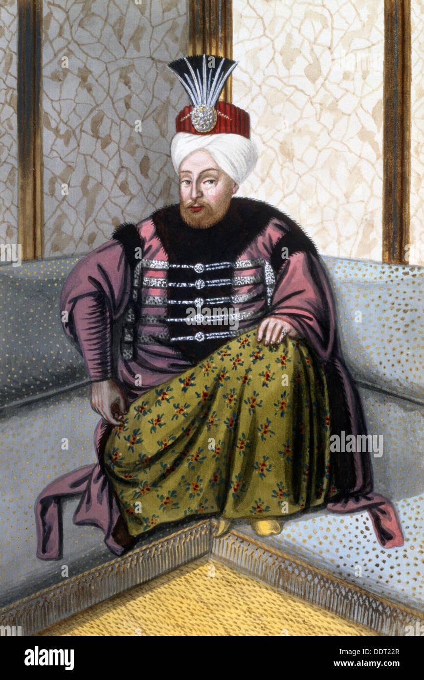 Mehmed IV, Ottoman Emperor, (1808). Artist: John Young - Stock Image
