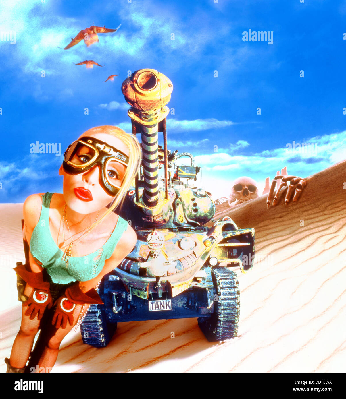 Search for tank girl at moviegallery