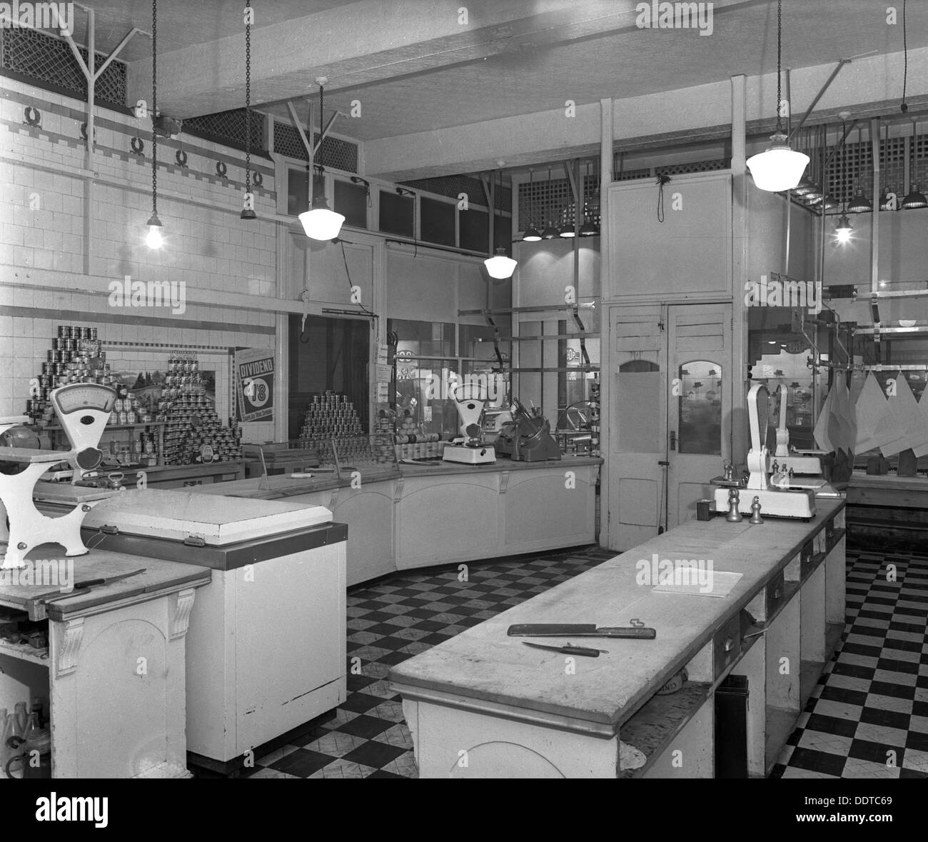 Interior Of The Butchery Department Barnsley Co Op South Yorkshire Stock Photo 60158065 Alamy
