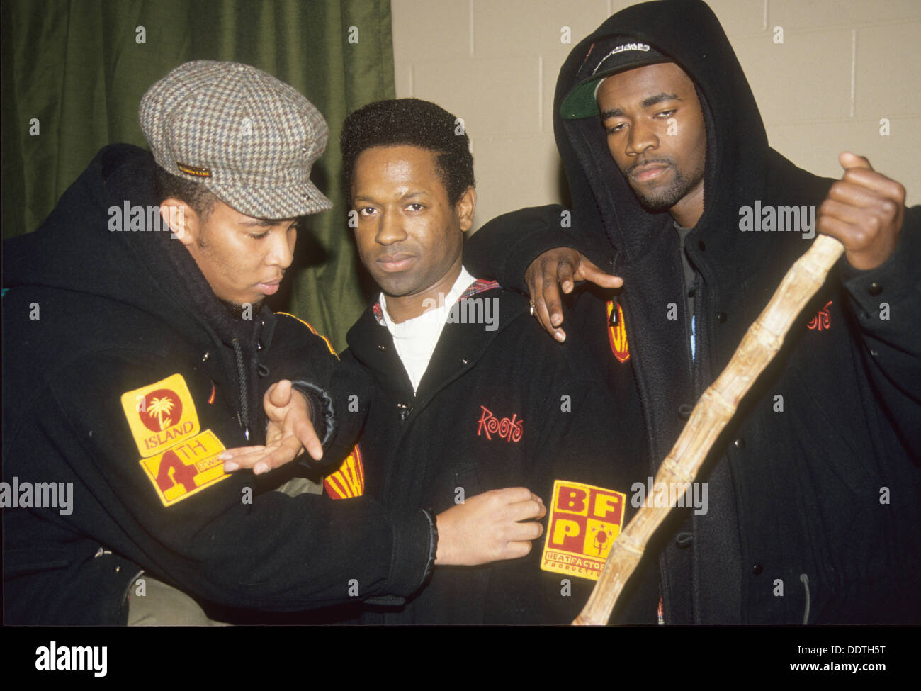DREAM WARRIORS Canadian rap group in 1994 - Stock Image