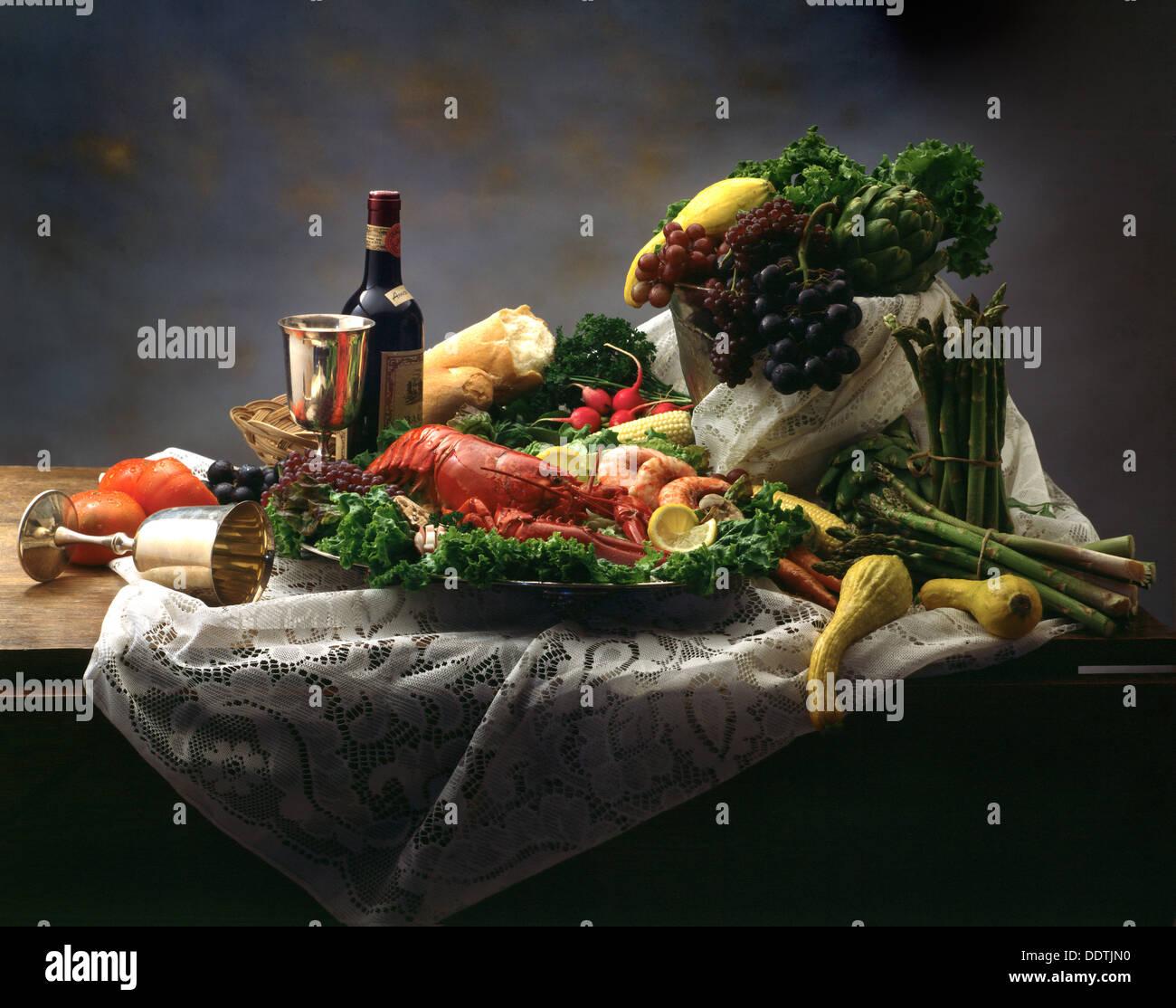 Dutch Still Life - Stock Image