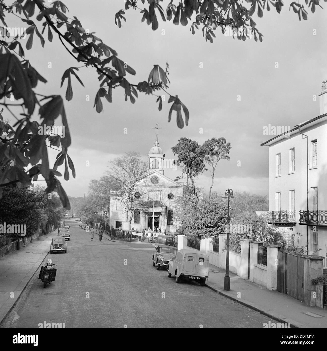St John's Church, Downshire Hill, Hampstead, London, 1960-1965. Artist: John Gay - Stock Image