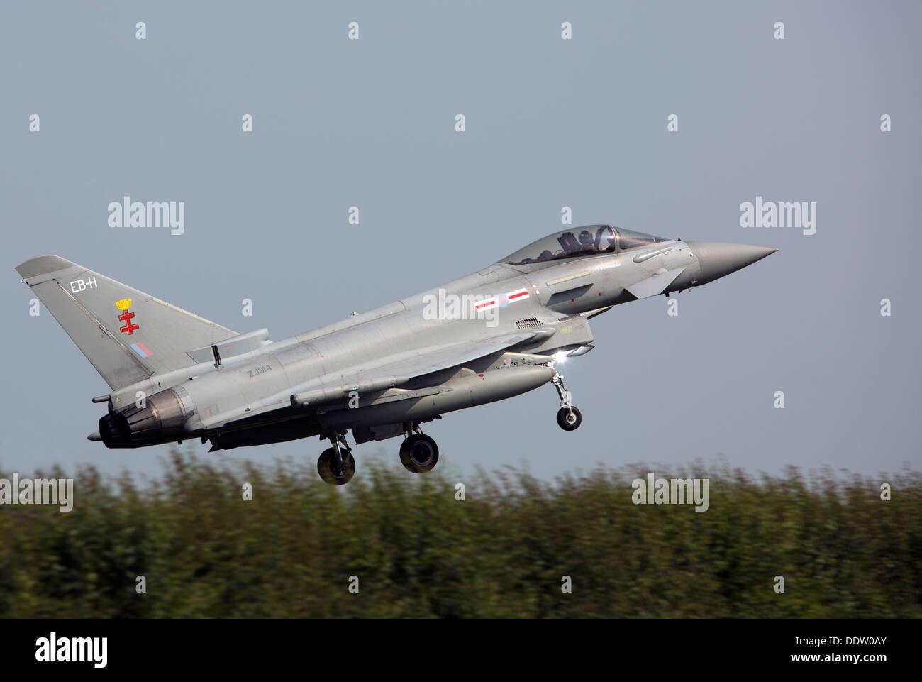 Eurofighter Typhoon FGR4 ZJ914 - Stock Image