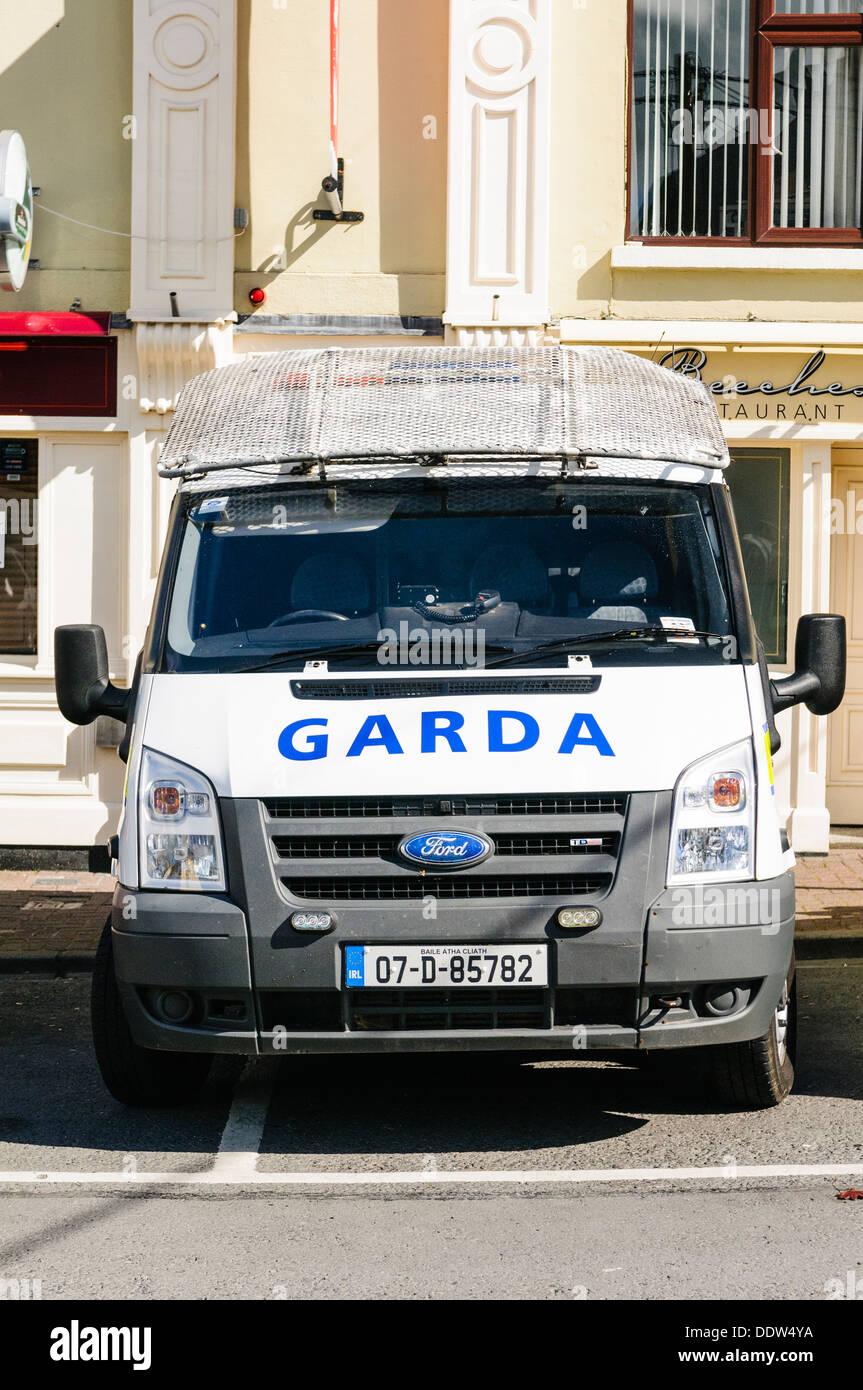 Garda Siochana Irish police vehicle Stock Photo
