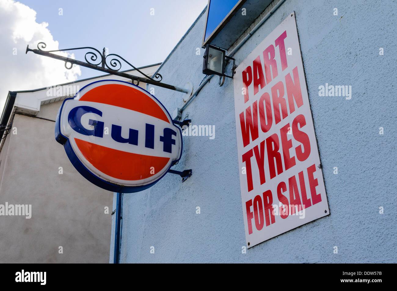 Gulf Petrol Station Stock Photos & Gulf Petrol Station Stock Images