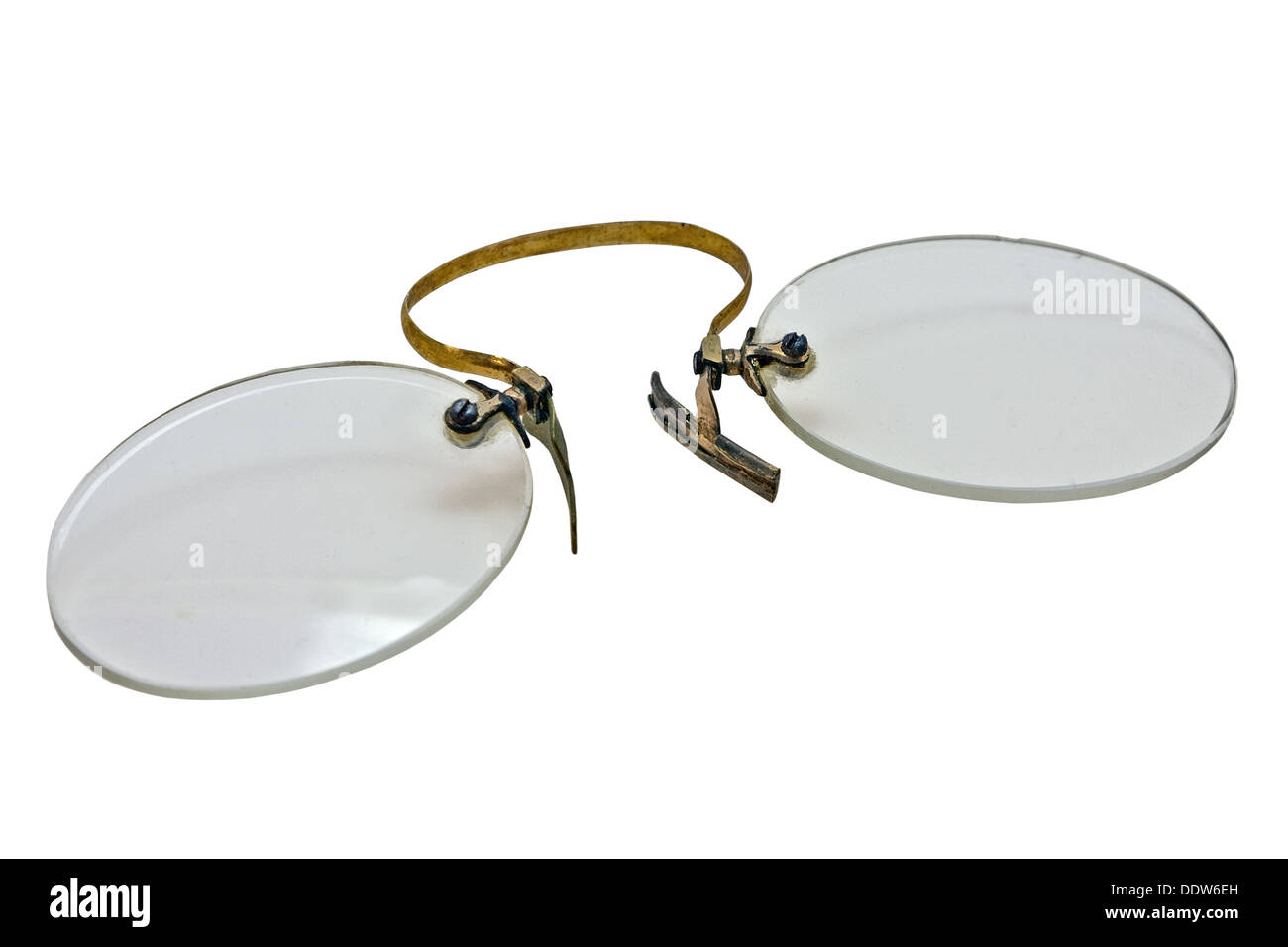 580c72f6bacb Pince Nez Cut Out Stock Images   Pictures - Alamy
