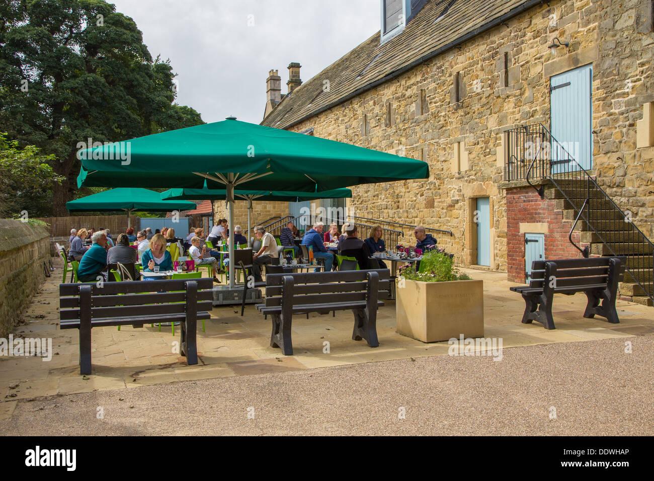 The Tea Room at Hardwick New Hall, Derbyshire, England. - Stock Image