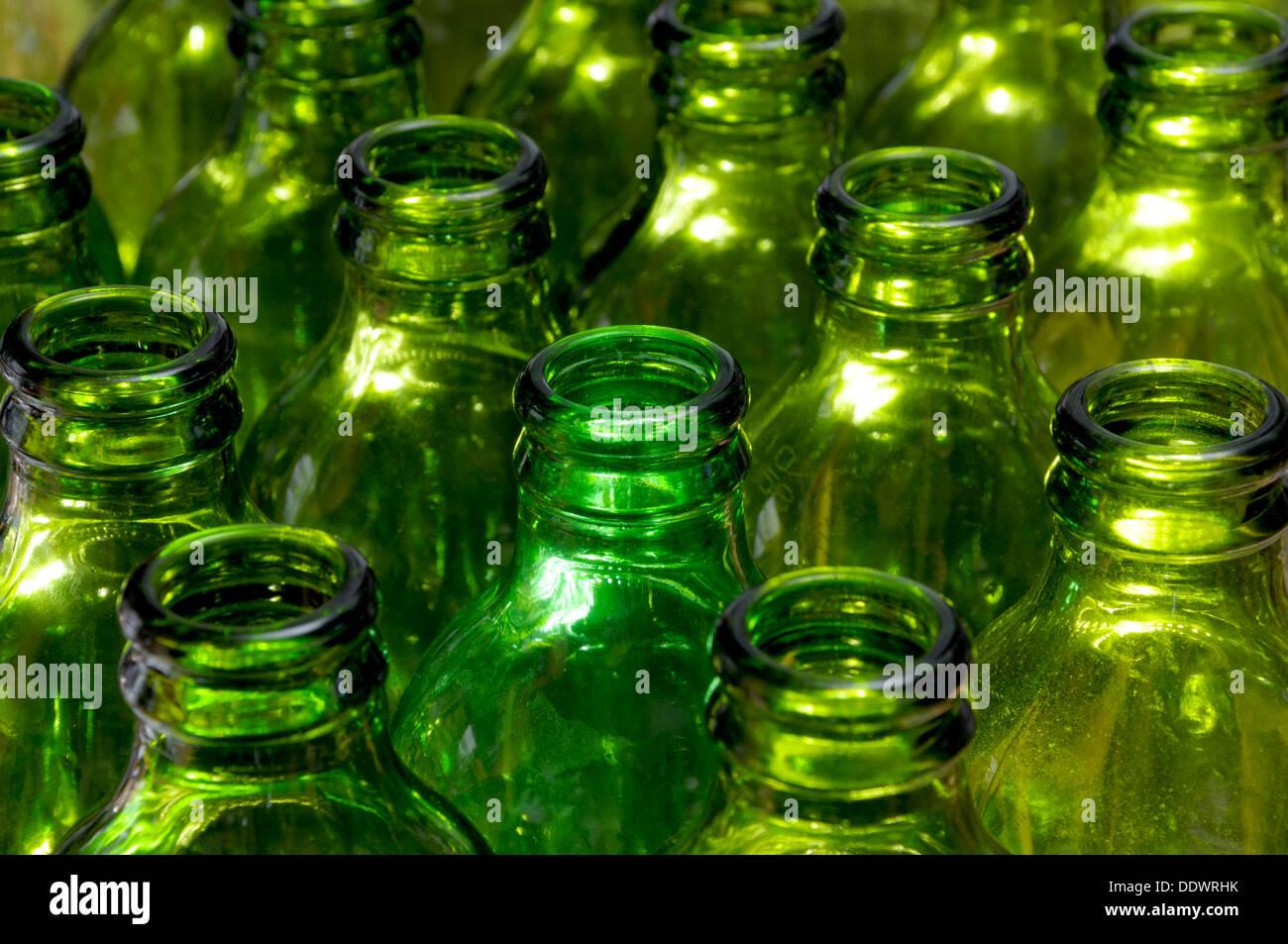 Empty Beer Bottles Stock Photos & Empty Beer Bottles Stock Images