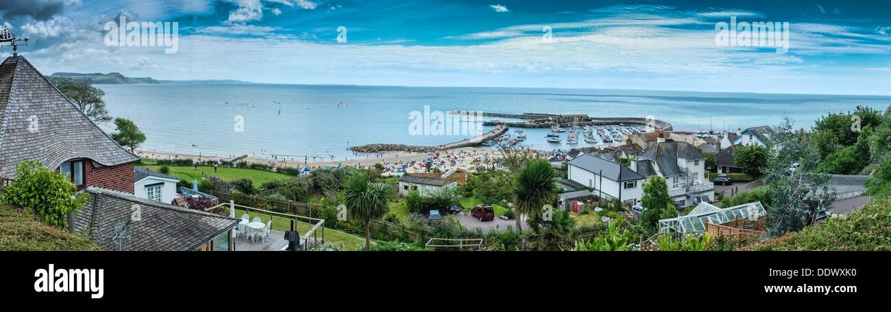 Sidmouth, Devon, Britain. - Stock Image