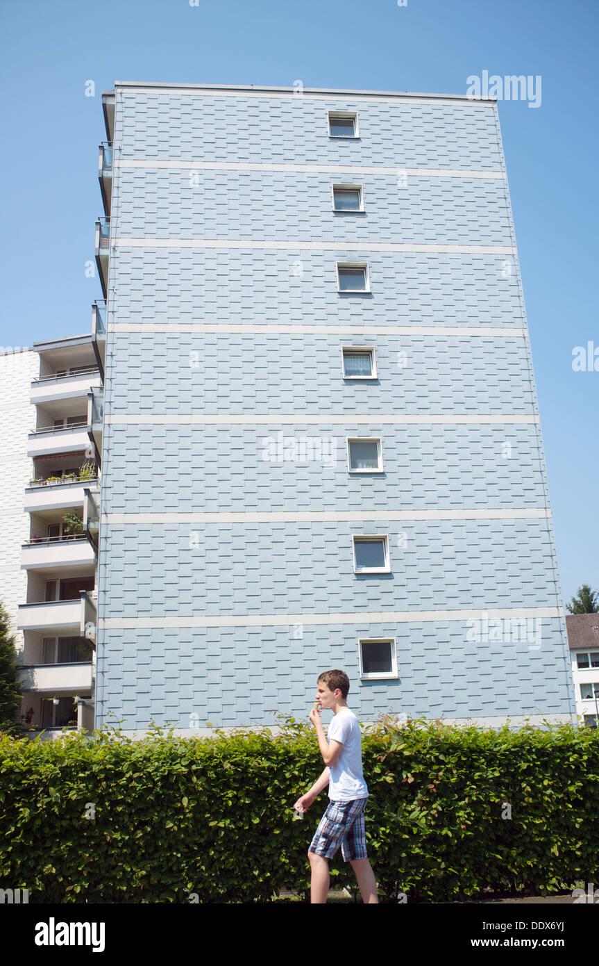 Social housing Germany - Stock Image