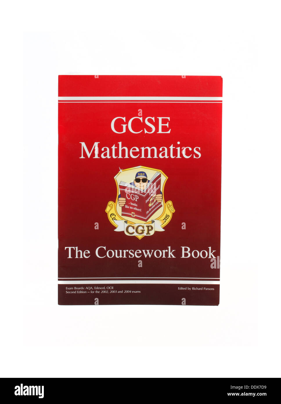GCSE Mathematics - The Coursework Book - Stock Image
