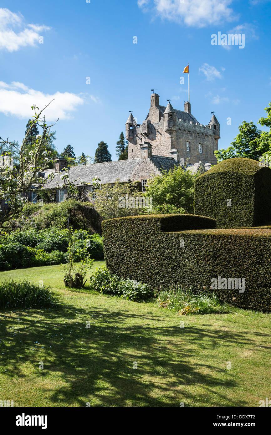 Cawdor Castle Gardens in Inverness-shire , Scotland - Stock Image