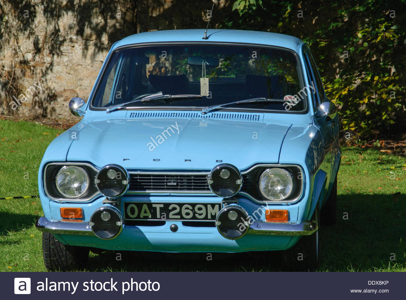Ford escort mk1 on display during