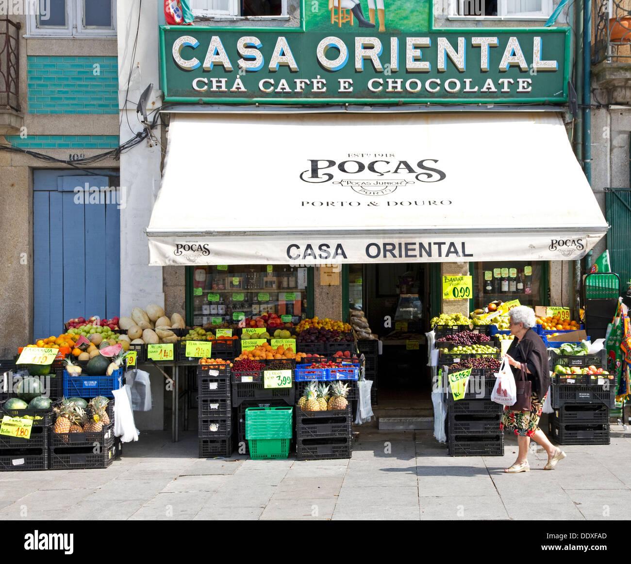 Casa Oriental Grocery Store Central Porto Portugal