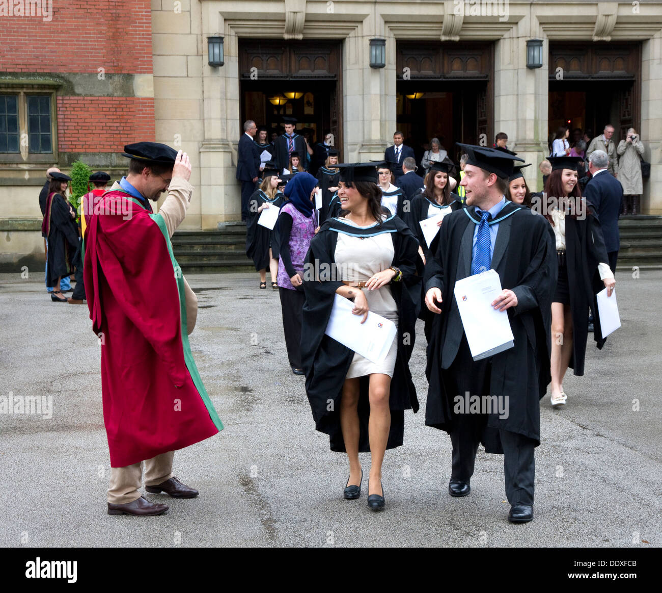 Graduation Day University Birmingham England Stock Photos ...