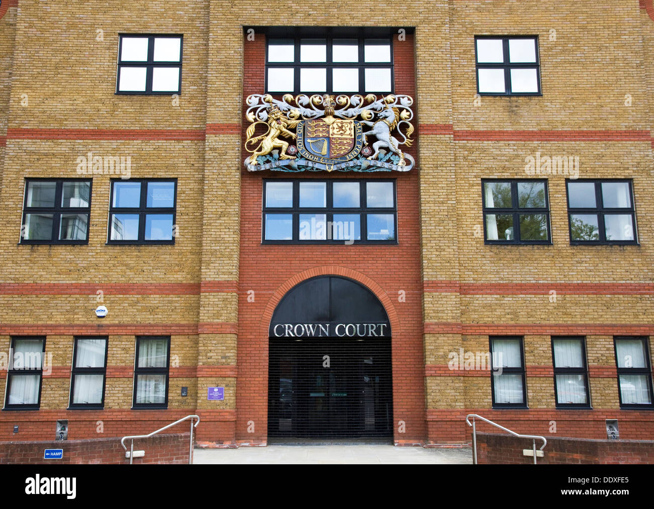 St Albans Crown Court and County Court, St Albans, Hertfordshire, England, UK - Stock Image