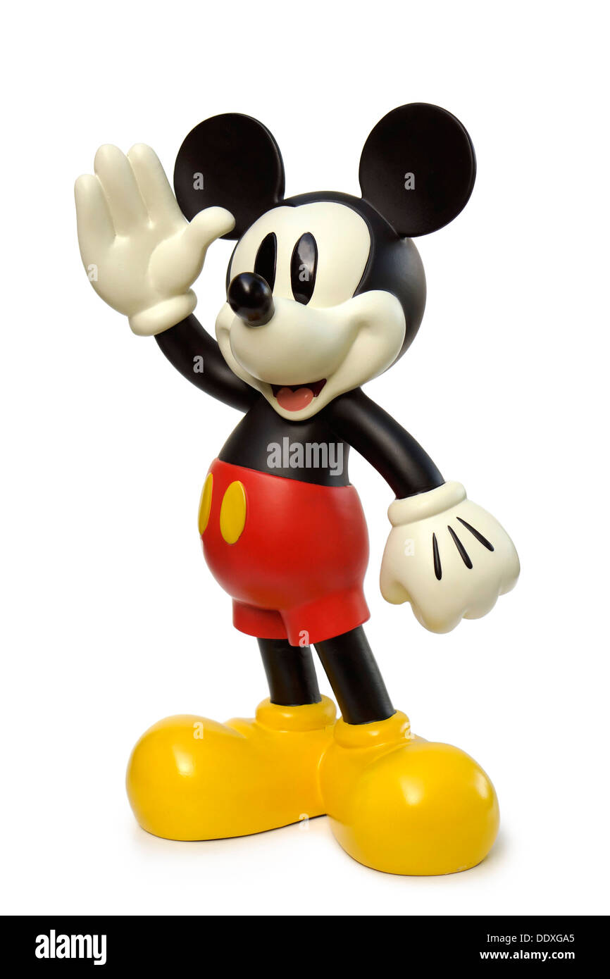 Mickey Mouse Character, Souvenir, Figurine, Disney - Stock Image
