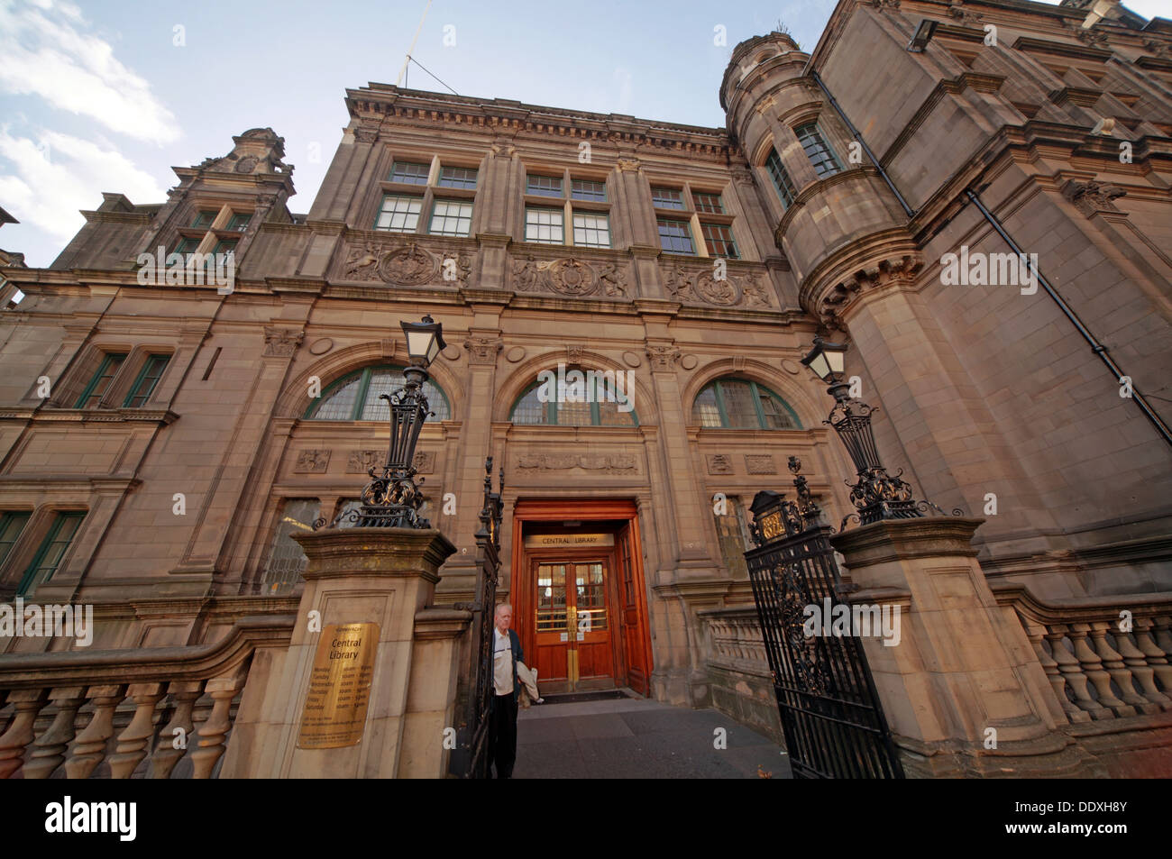 Edinburgh Central Library,, 7-9 George IV Bridge, Edinburgh, Scotland, UK,  EH1 1EG - Stock Image