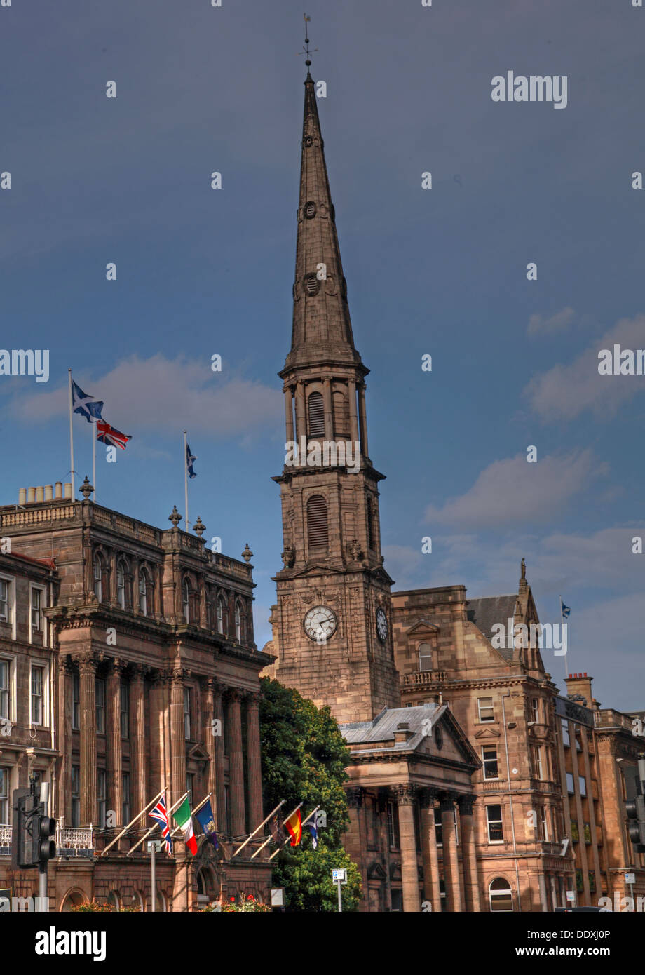 George Street, Edinburgh, Scotland, UK, - Stock Image
