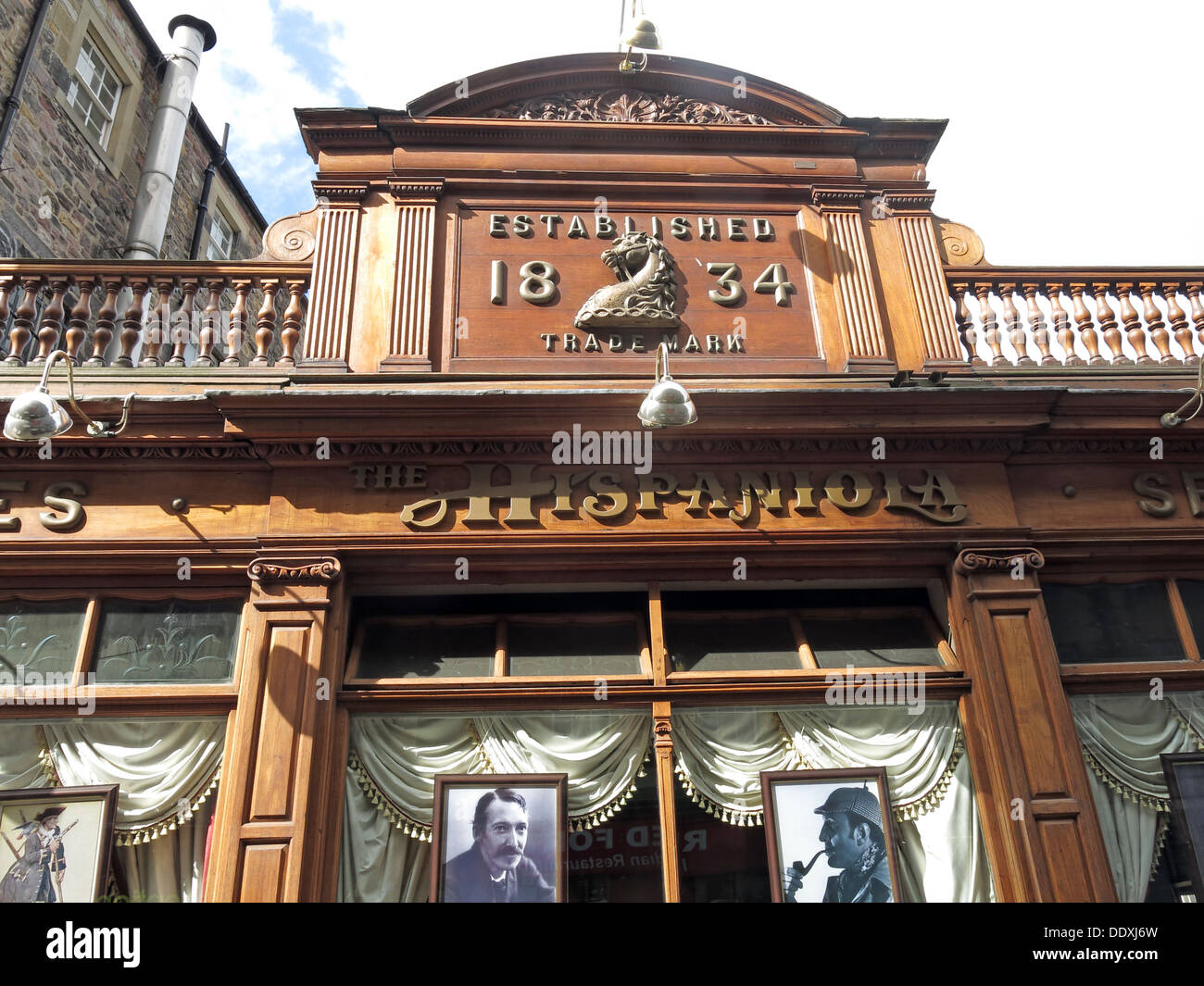 Hispaneola Bar, Newington, Old Town,3 Drummond Street Edinburgh, Scotland, UK EH8 9TT - Stock Image