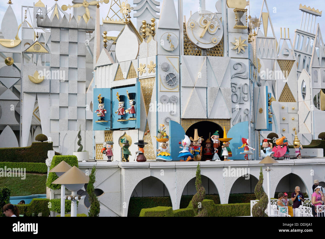It's A Small World, Disneyland Resort, Fantasyland, Magic Kingdom, California Stock Photo