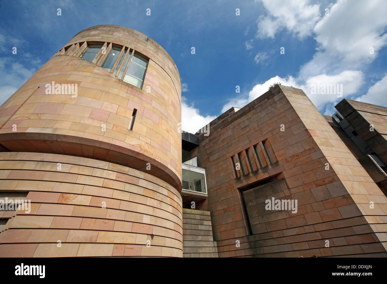 New exterior of National Museum of Scotland  Chambers St Edinburgh city, Scotland UK EH1 1JF - Stock Image