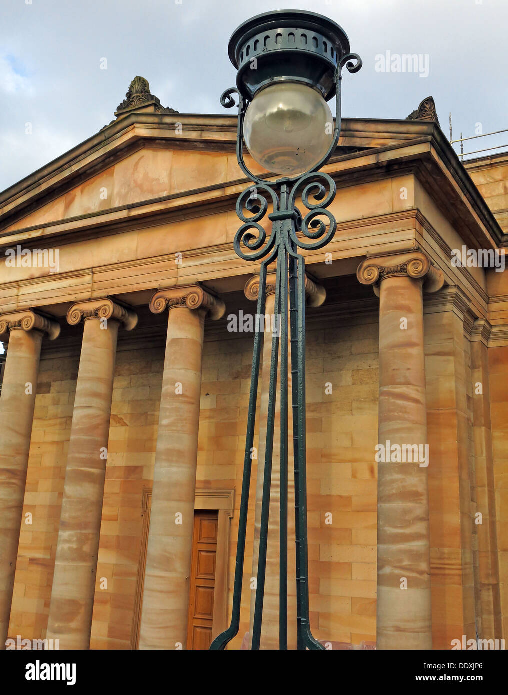 National Galleries of Scotland Edinburgh City, on the Mound, UK - Stock Image