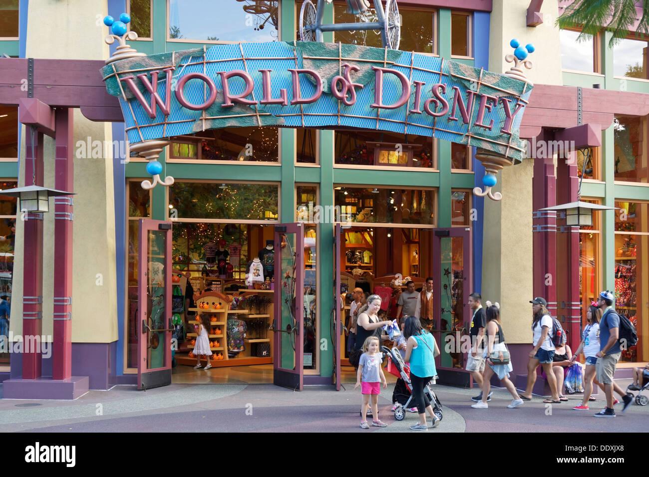 world of disney store disneyland downtown anaheim