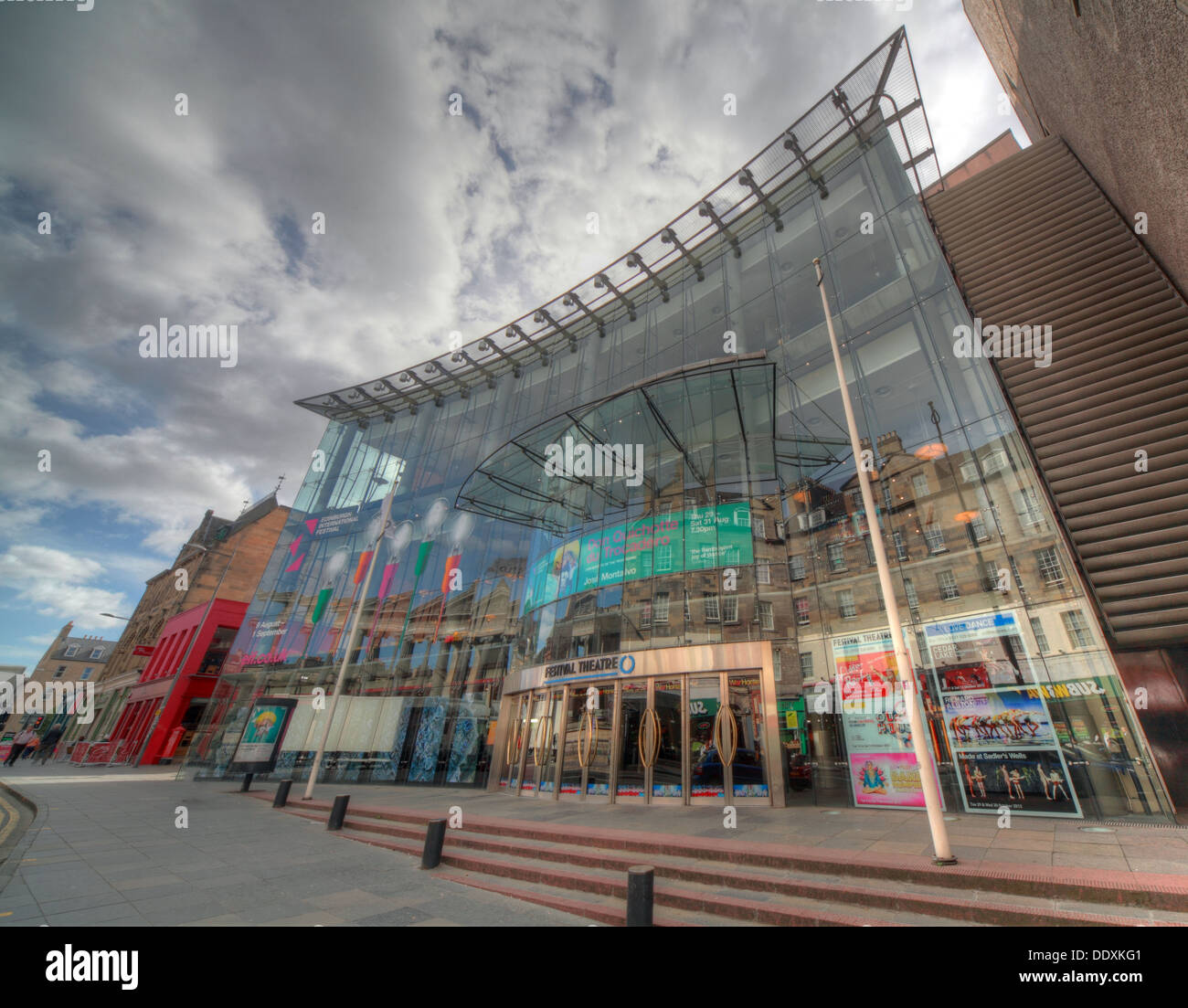 Edinburgh Festival Theatre Nicholson St Stock Photo