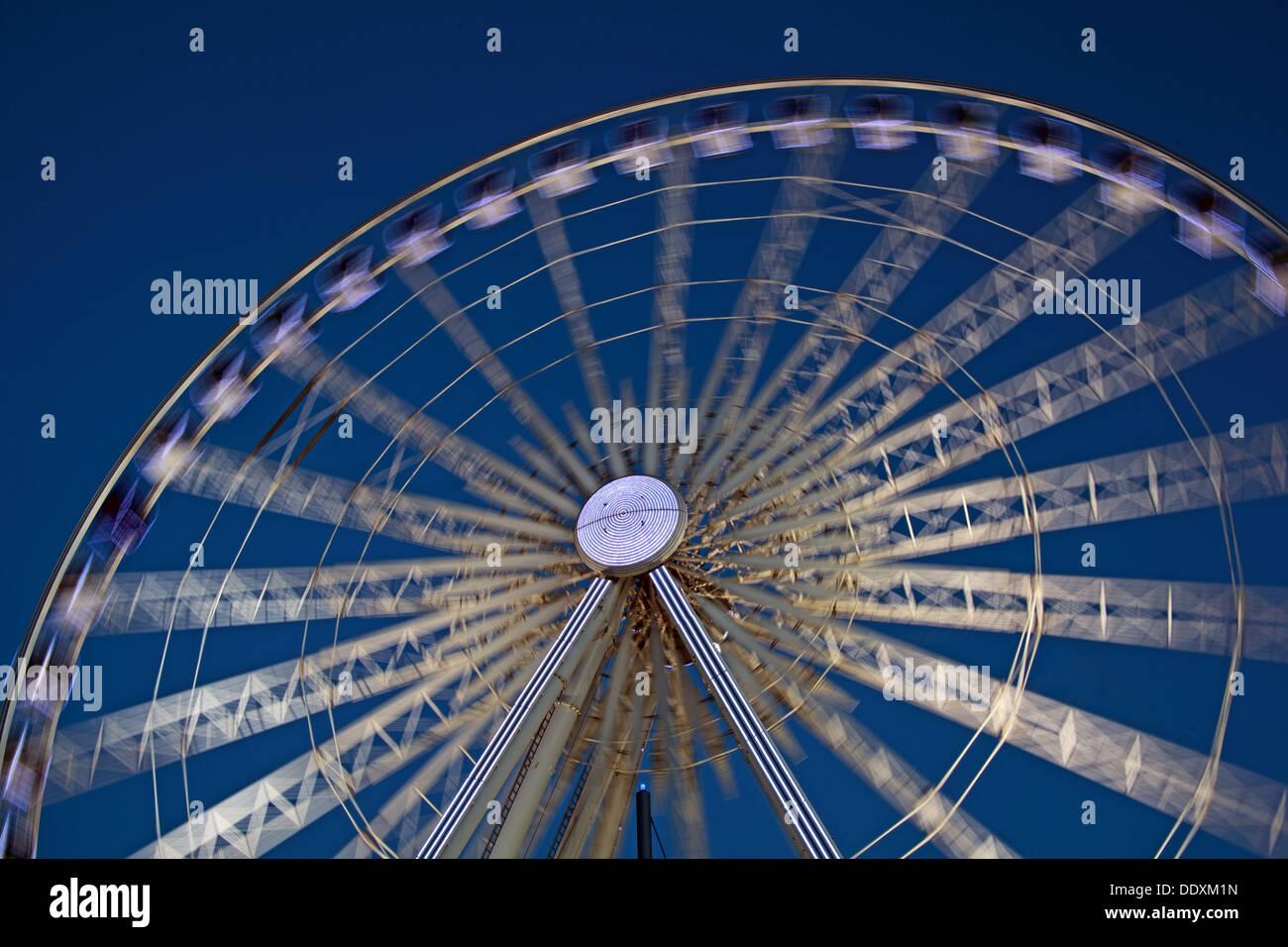 Pier Head Albert Dock at Nighttime liverpool Merseyside England UK Stock Photo