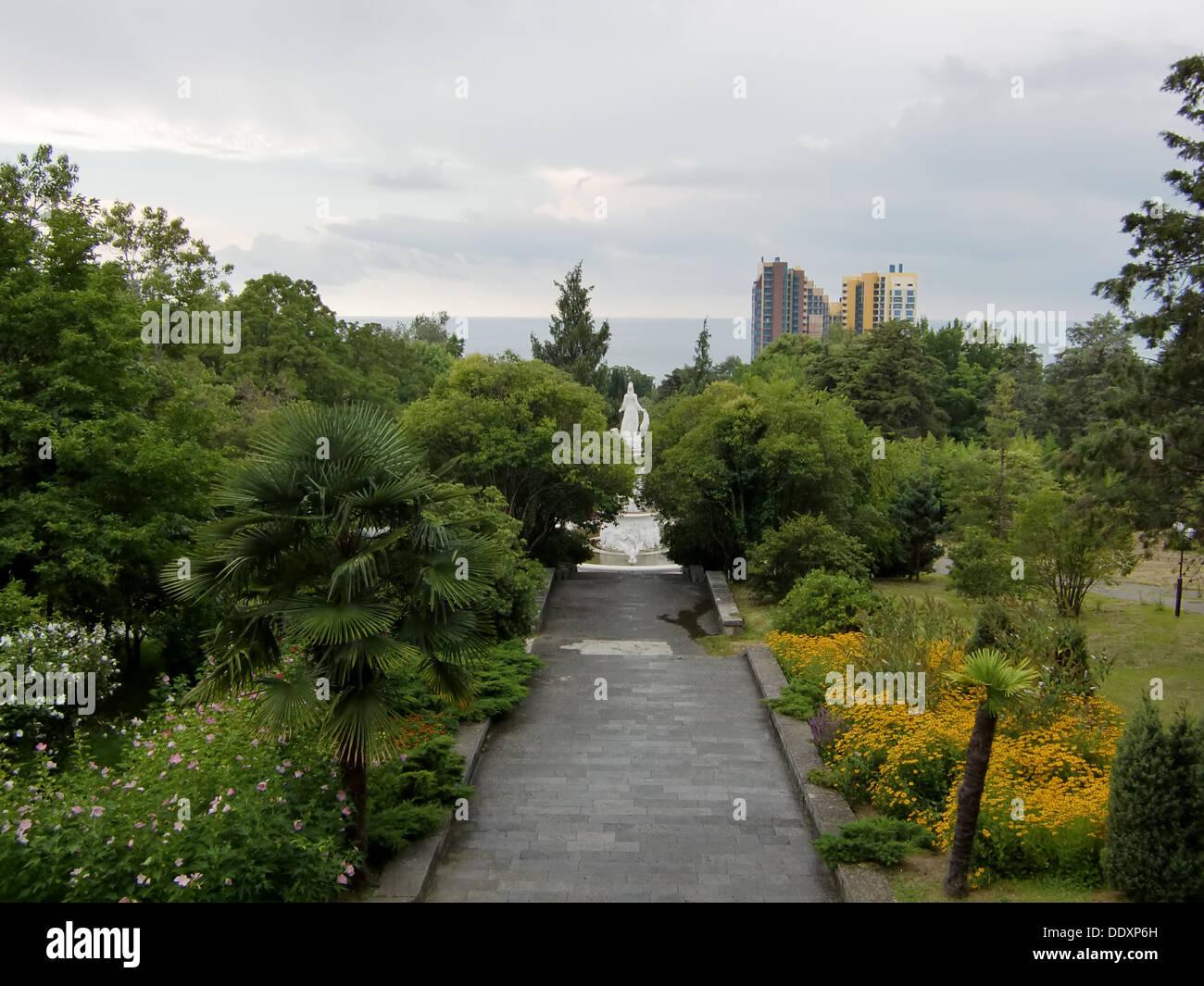 Dendrarium (Sochi, Russia) - Stock Image