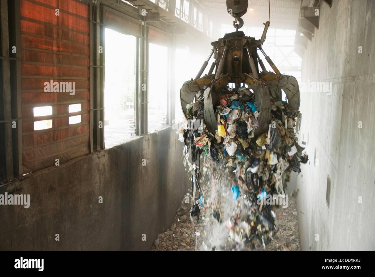 Valdemingomez waste treatment centre, Madrid, Spain. - Stock Image