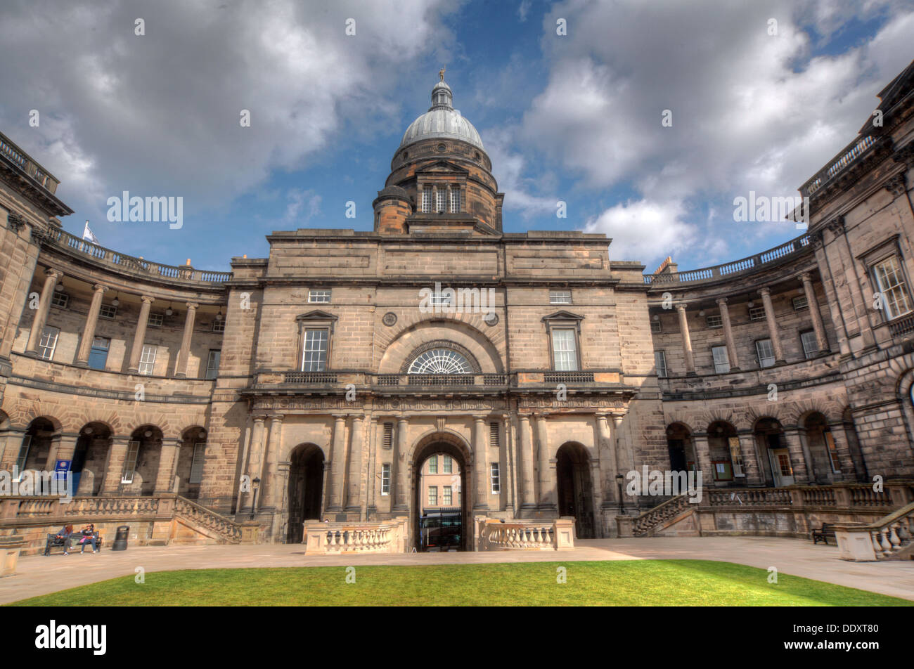 Tower/dome at Edinburgh University South College Lothian Scotland UK wide view Stock Photo