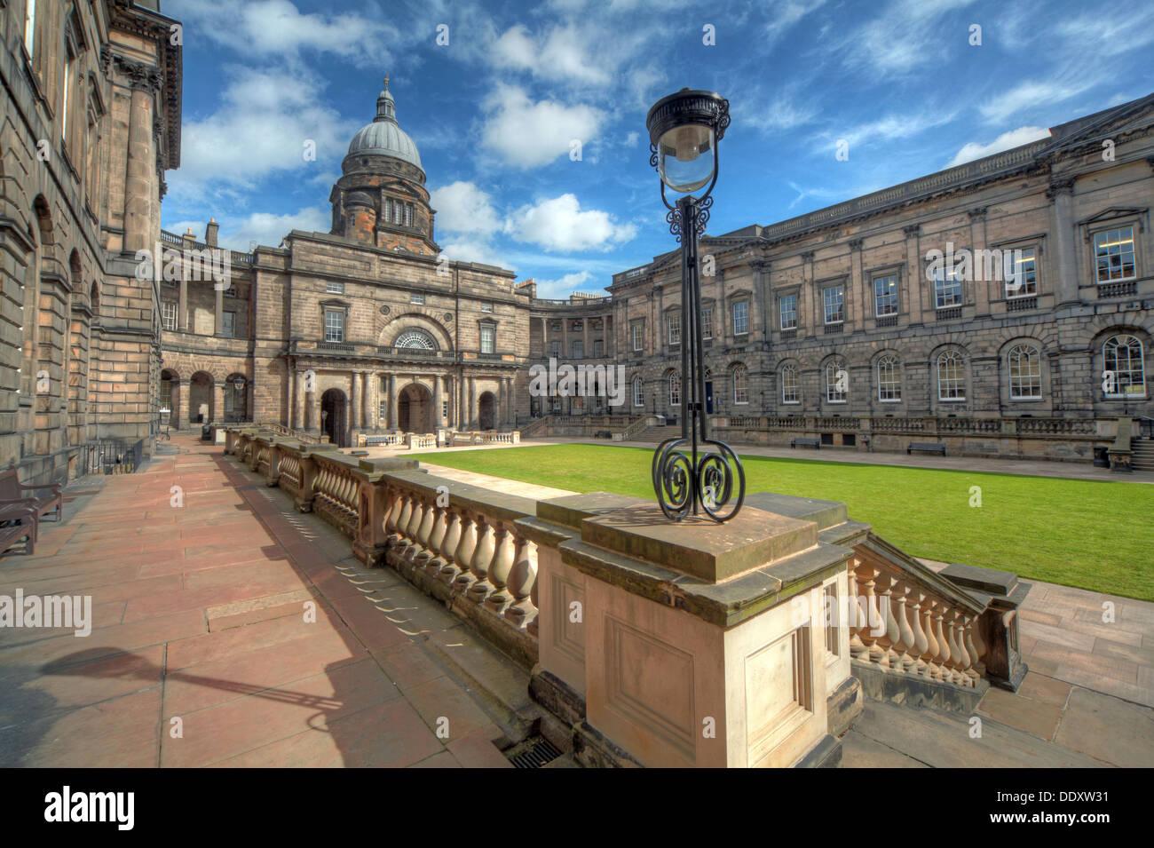 Edinburgh University South College Lothian Scotland UK wide view Stock Photo