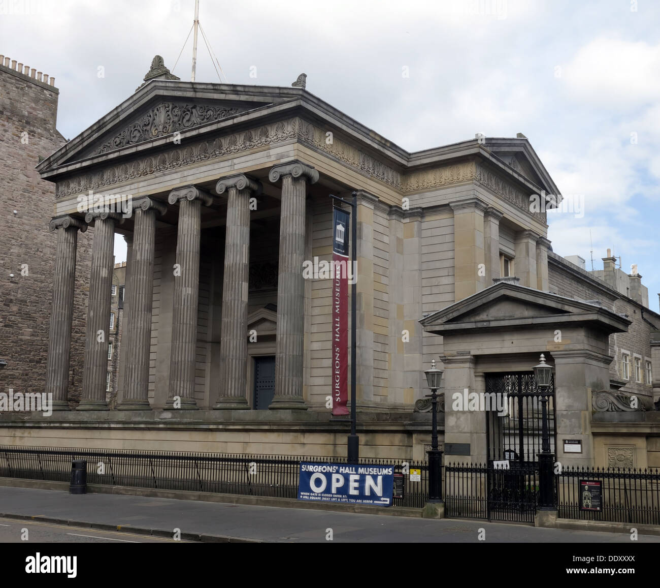 Surgeons Hall, Edinburgh, Scotland, UK - Stock Image