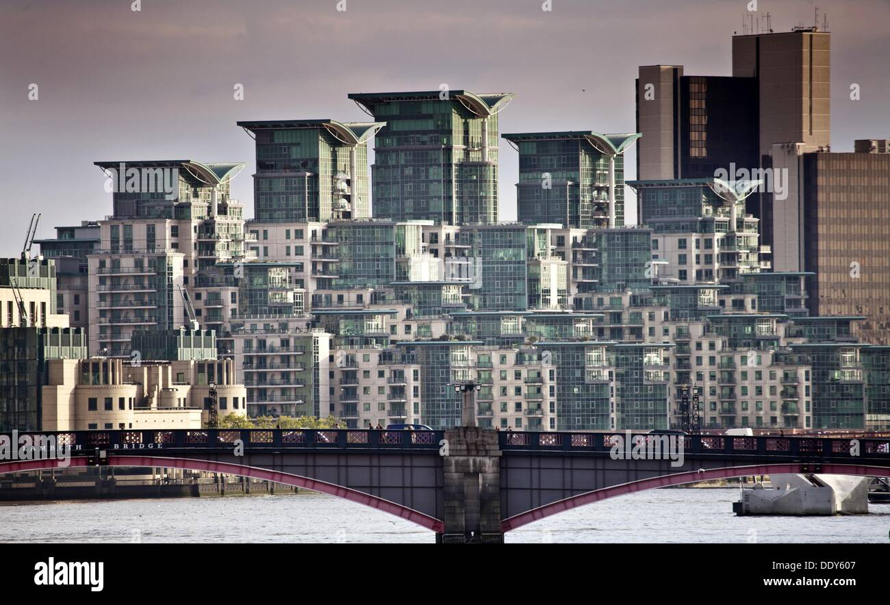 Buildings, London, England, UK - Stock Image