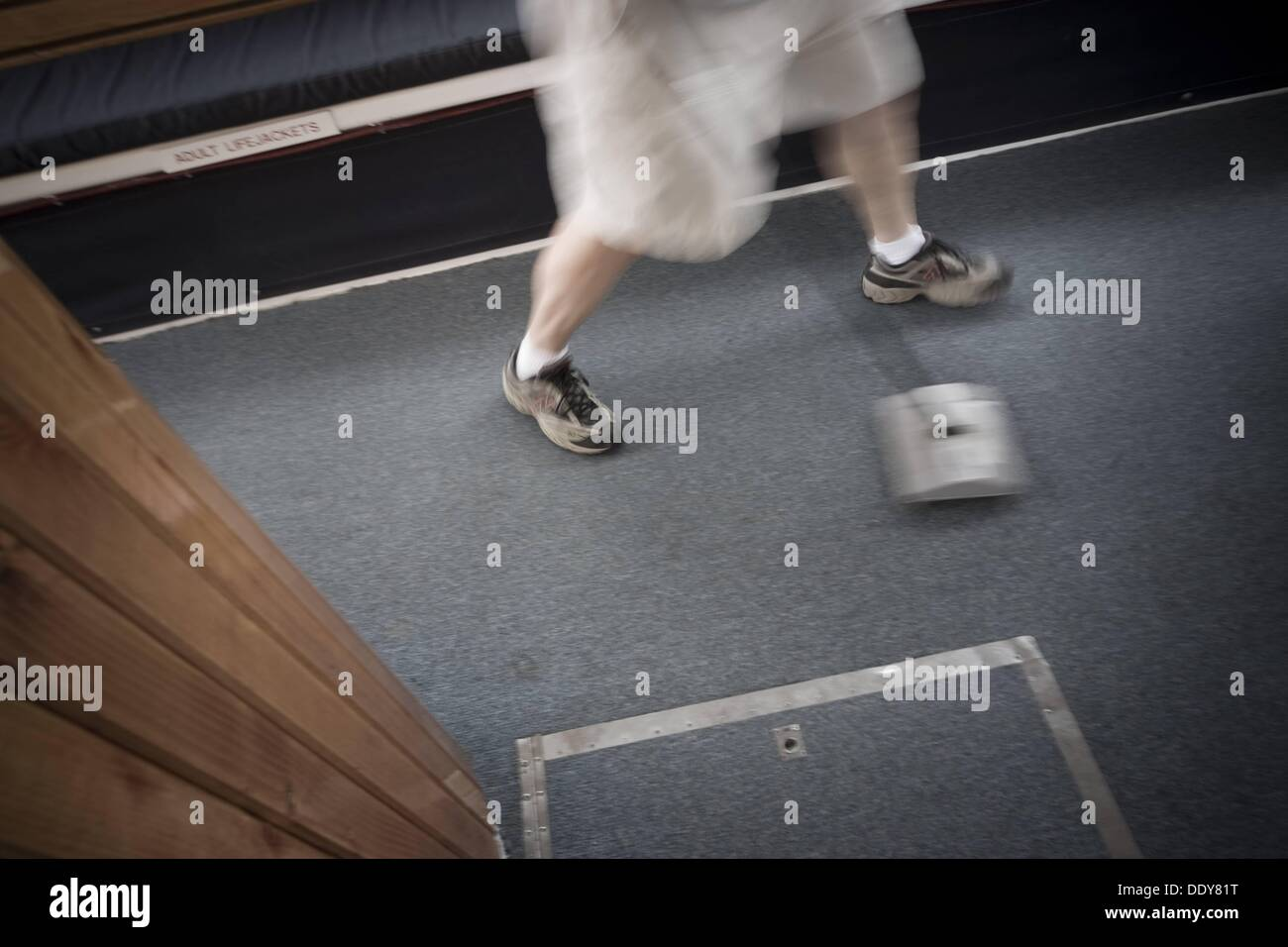 Carpet Sweeper Stock Photos Images Alamy Diagram Parts List For Model 1960 Bissellparts Wetcarpetcleaner Close Up Of A Man Using Manual Image
