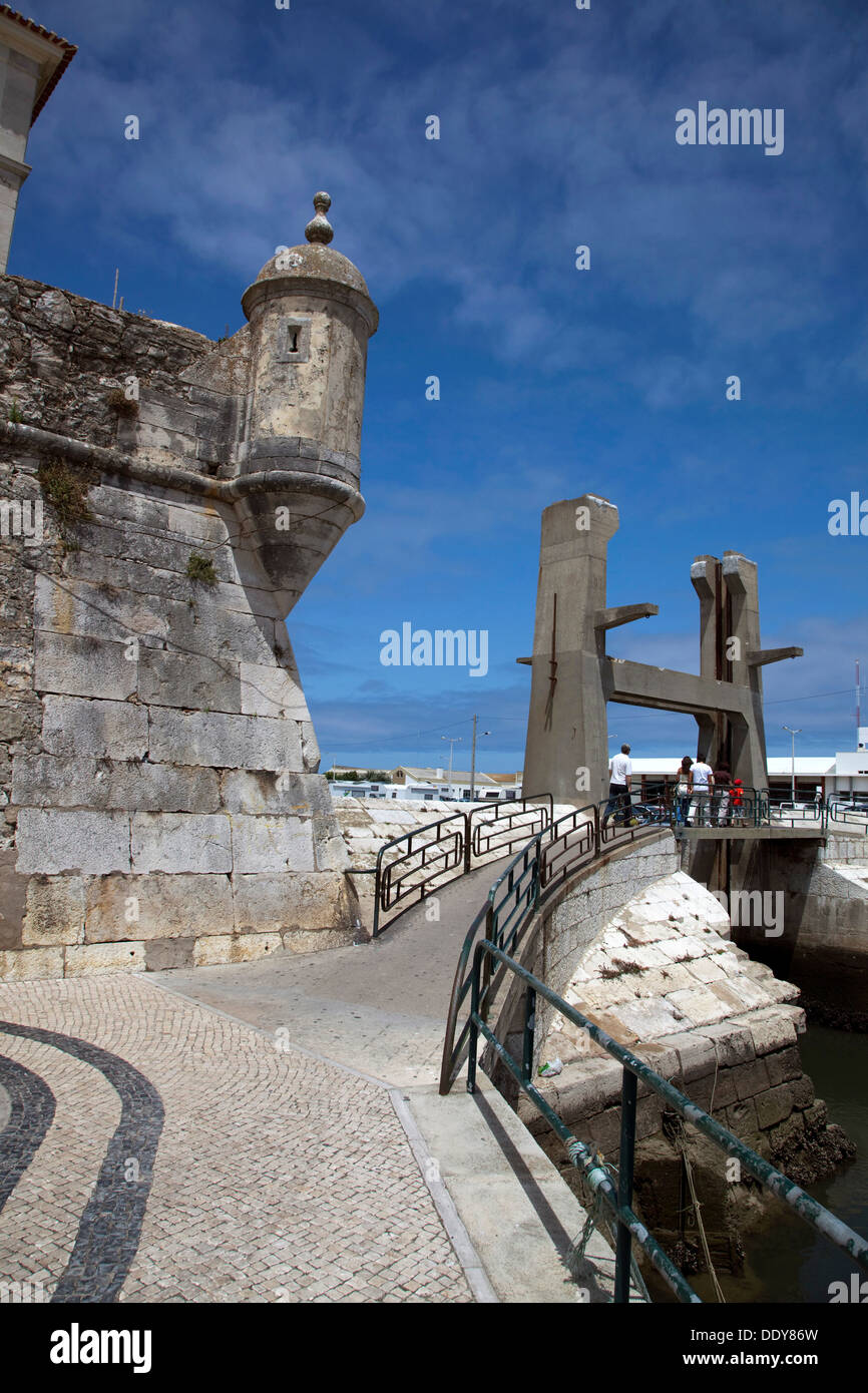 The fortress at Peniche, Portugal, 2009. Artist: Samuel Magal - Stock Image