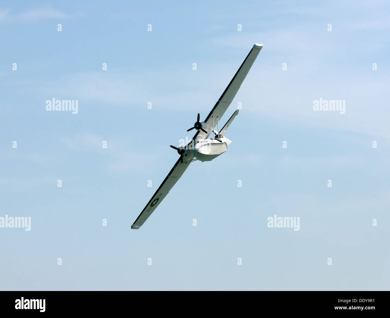 PBY Catalina G-PBYA 433915 displaying at the Broadstairs Water Gala, 2013. - Stock Image