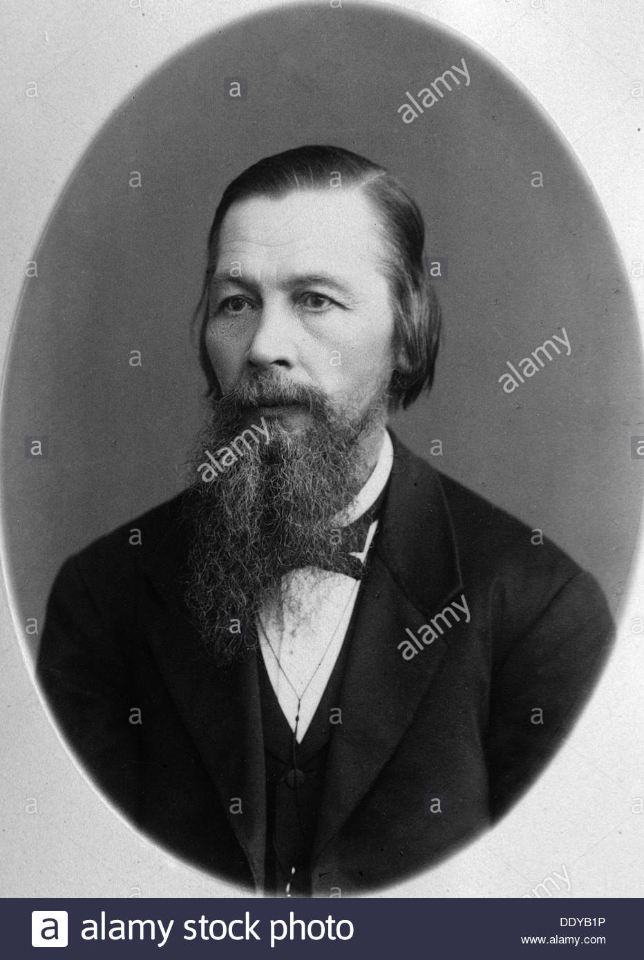 Pyotr Yefremov, Russian bibliographer, publisher and journalist, 1880s. Artist: Y Steinberg - Stock Image