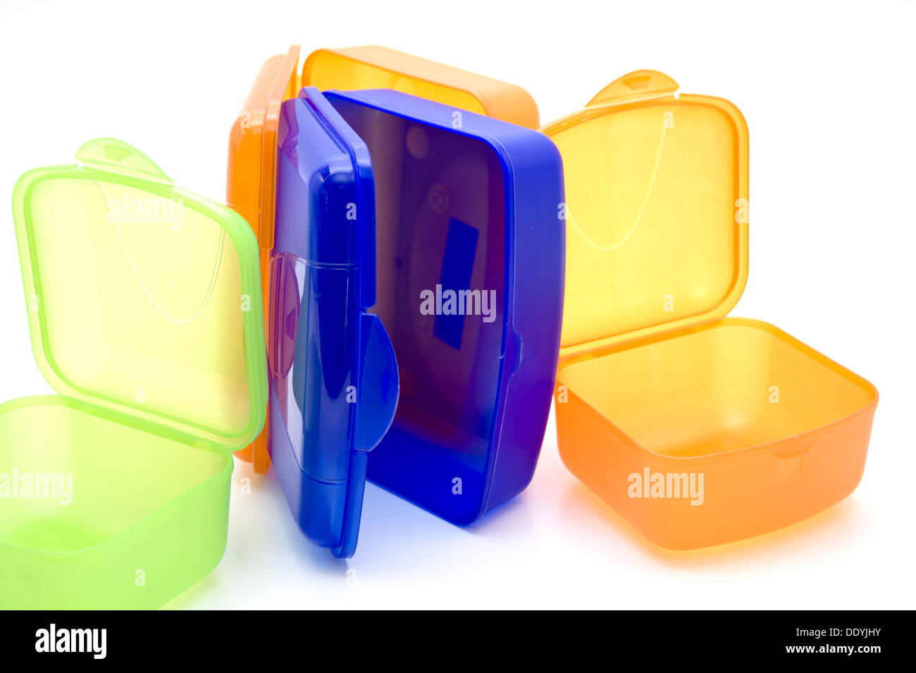 Fresh hold tins - Stock Image