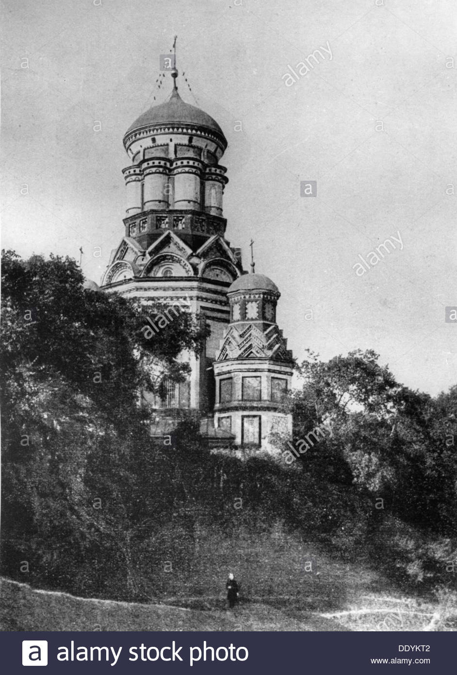 The Church of St John the Baptist, Diakovo, Russia, c1900-c1905. - Stock Image