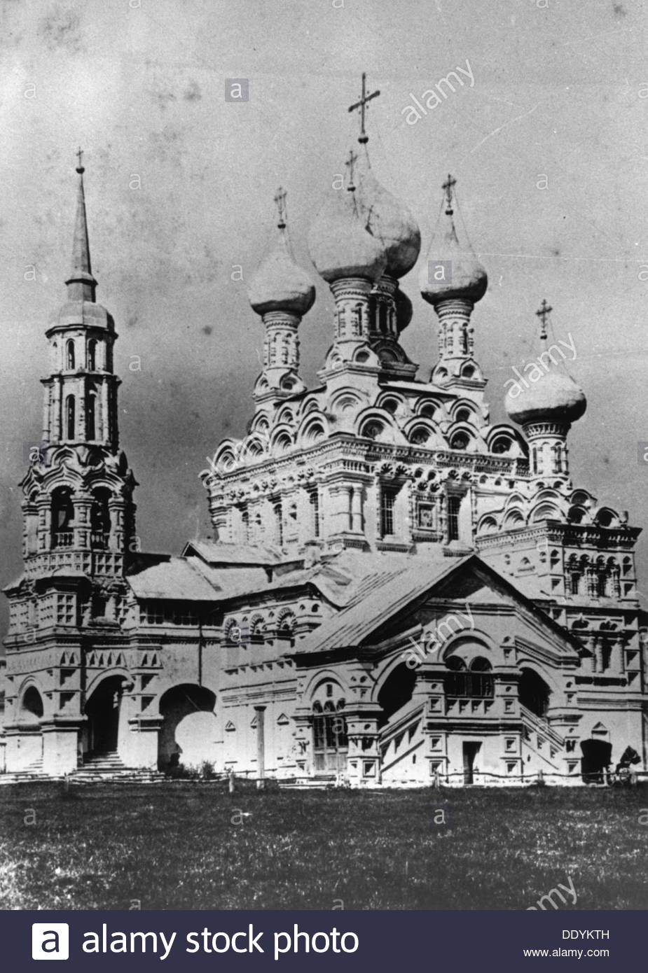 The Church of the Holy Trinity, Ostankino, Moscow, Russia, 1900s. - Stock Image