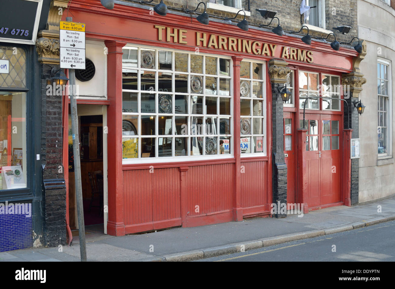The Haringey Arms pub in Crouch End, London, UK. - Stock Image