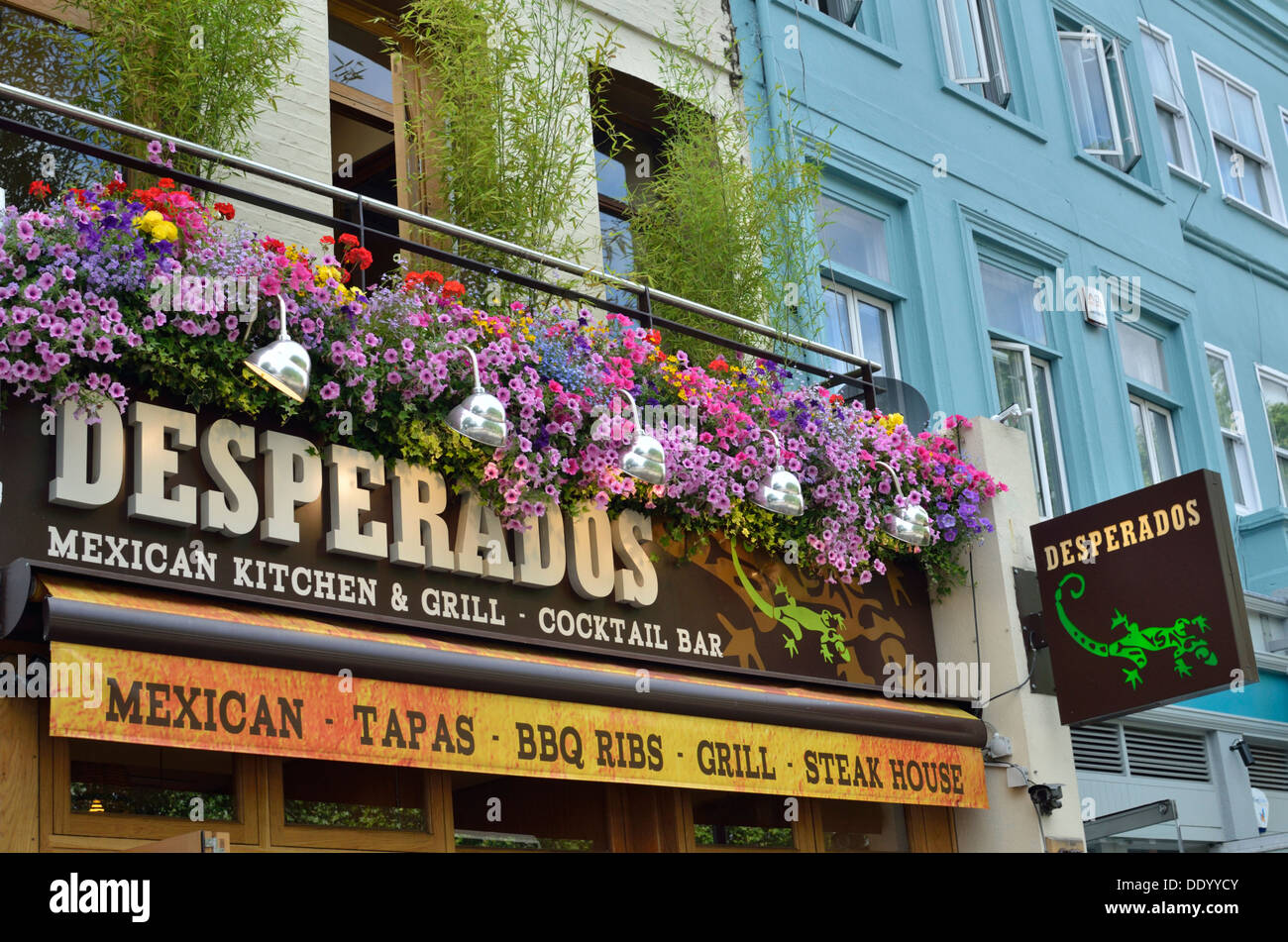 Desperados Mexican Restaurant In Angel Islington London Uk Stock Photo Alamy