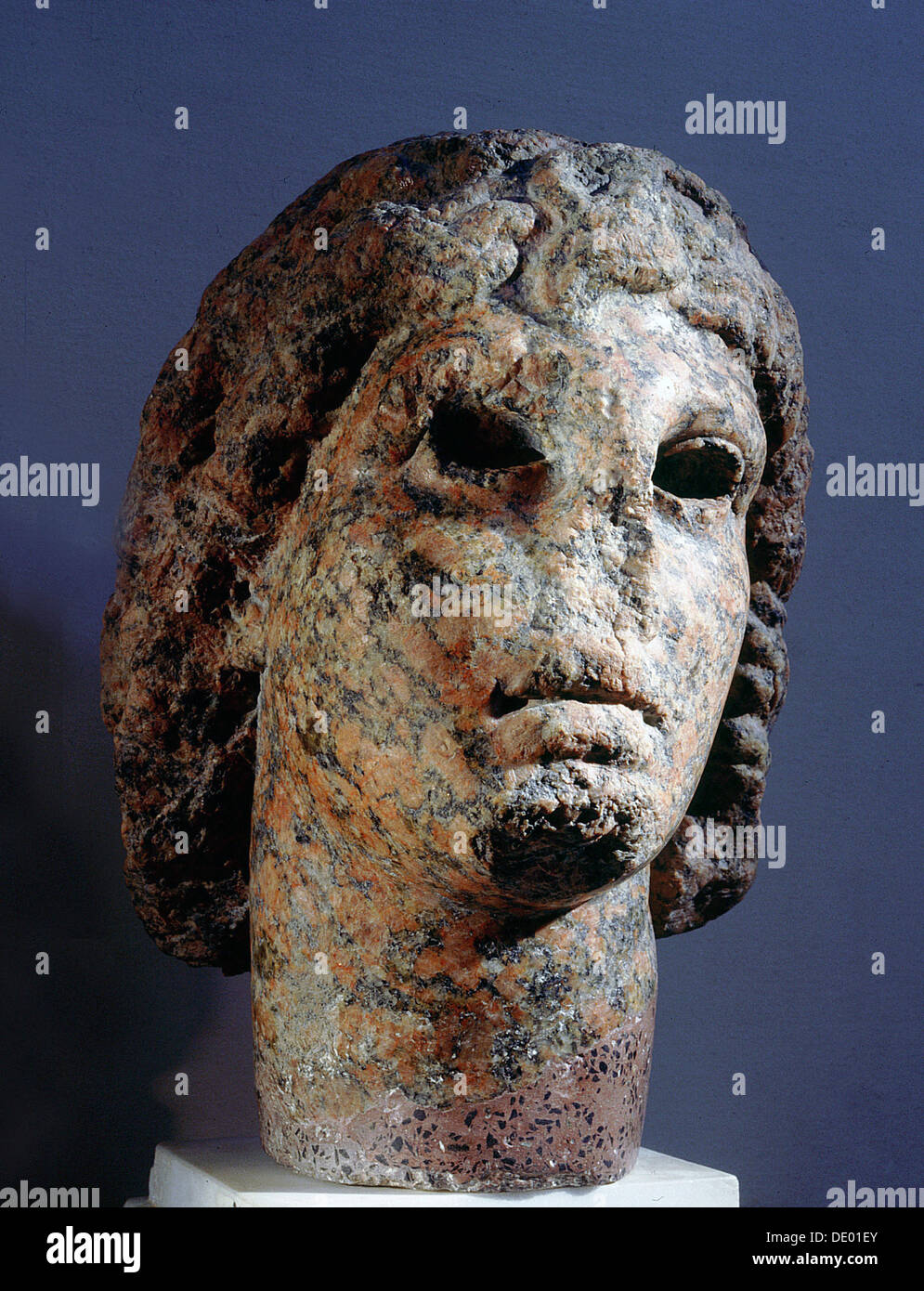 Portrait bust of alexander the great ancient egyptian ptolemaic portrait bust of alexander the great ancient egyptian ptolemaic period c305 30 bc artist werner forman kristyandbryce Choice Image