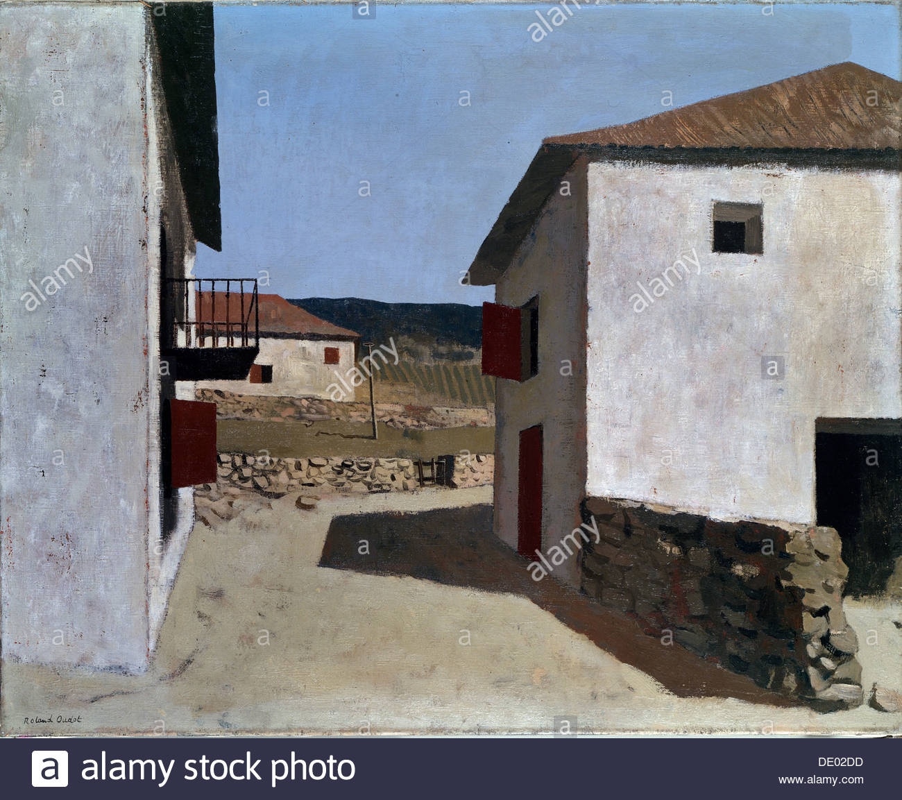 'The Basque Provinces', 20th century. Artist: Roland Oudot - Stock Image