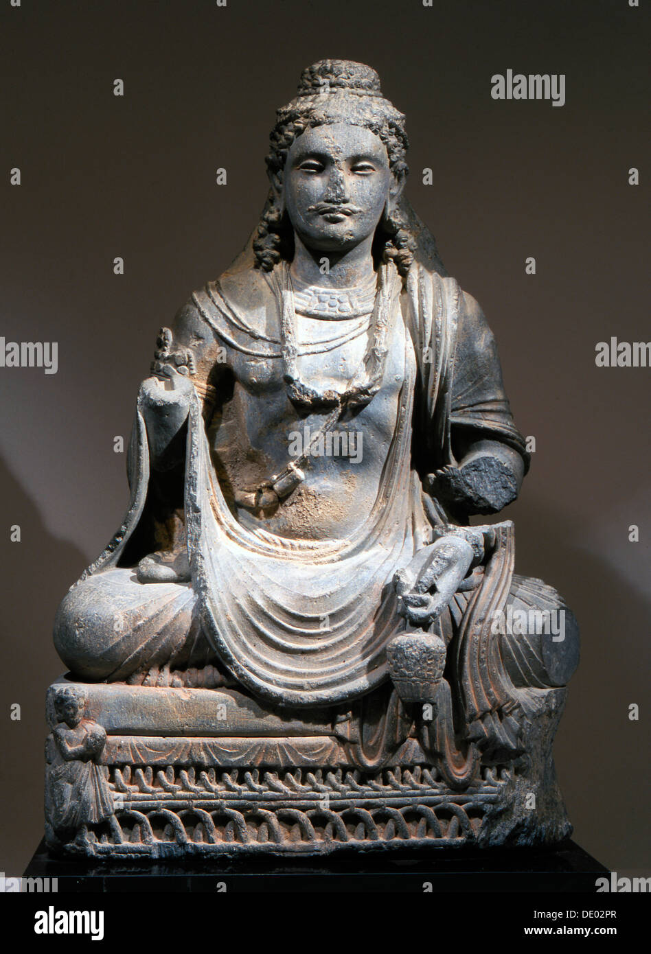 Statue Of Maitreya The Buddha Of The Future From Gandhara Kushan Stock Photo Alamy