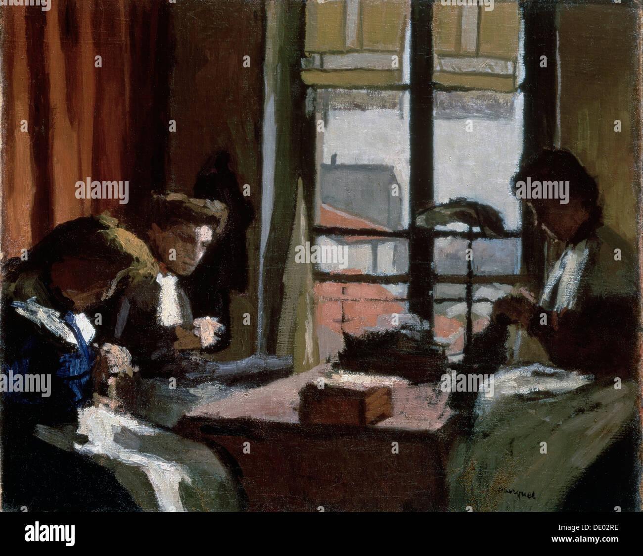 'Milliners', 1901-1902.  Artist: Albert Marquet - Stock Image